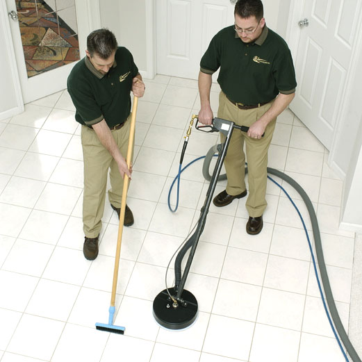 Residential Tile Grout Cleaning